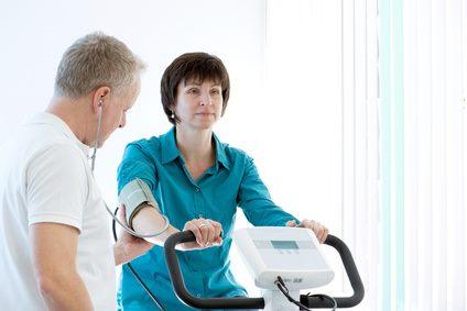 Ergometer im medizinischen Bereich