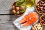 Gesunde fettreiche Lebensmittel