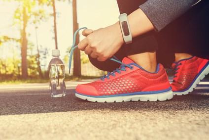 Gute Laufschuhe zum Abnehmen beim Joggen