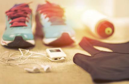Lauf Gadgets zum Abnehmen beim Joggen